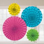 Rozetky s trblietkami multicolour