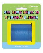 Modrá stuha na balóny