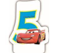 Sviečka 5 Cars