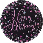"Tanierik ""Happy Birthday"" Pink Diamonds"