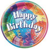 Tanierik veľký Brilliant Birthday