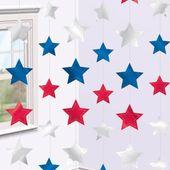 Visiace dekorácie stars USA