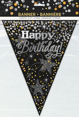 Vlajočky Glittering Birthday