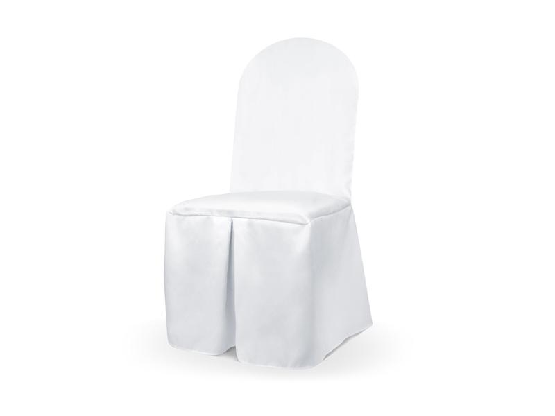 PartyDeco Saténové poťahy na stoličku