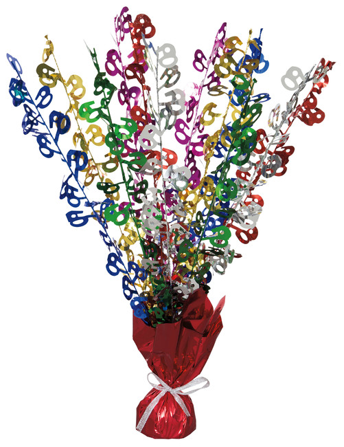Unique Stolová dekorácia 60.narodeniny 50cm