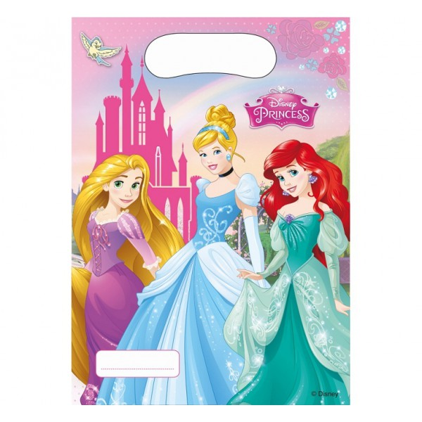 Procos Taštičky na darčeky Disney Princezné 6ks
