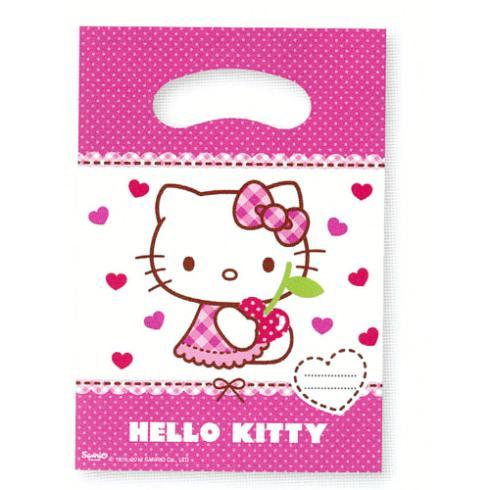 Procos Taštičky na darčeky Hello Kitty 6ks