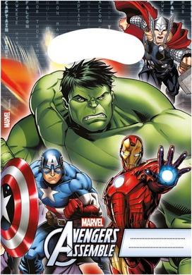 Procos Taštičky na darčeky Avengers 6ks