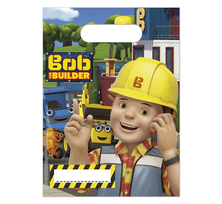 Procos Taštičky na darčeky Bob staviteľ 6ks