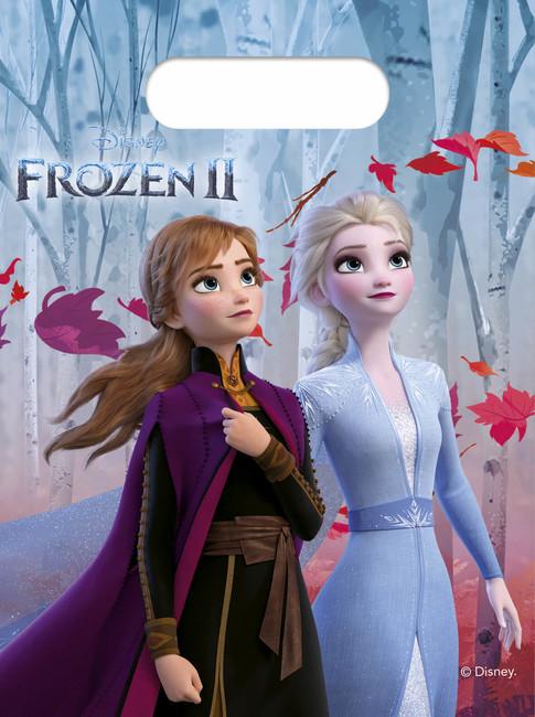 Procos Taštičky na darčeky Frozen2 – 6ks