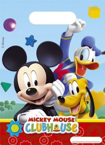 Procos Taštičky na darčeky Mickey Clubhouse 6ks